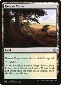 Krosan Verge, Magic: The Gathering, Commander: Zendikar Rising