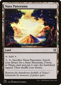 Naya Panorama, Magic: The Gathering, Commander: Zendikar Rising