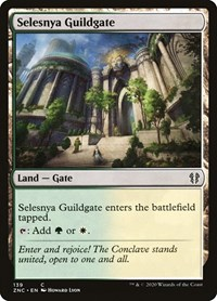 Selesnya Guildgate, Magic: The Gathering, Commander: Zendikar Rising