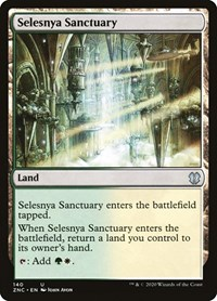Selesnya Sanctuary, Magic: The Gathering, Commander: Zendikar Rising