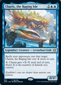 Charix, the Raging Isle (ZNR Bundle), Magic: The Gathering, Unique and Miscellaneous Promos
