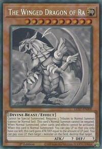 The Winged Dragon of Ra (Ghost Rare), YuGiOh, Legendary Duelists: Rage of Ra