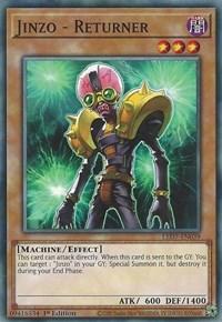 Yugioh Jinzo The Machine Menace M//NM LED7-EN031