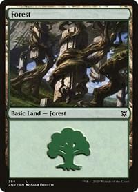 Forest, Magic, Zendikar Rising