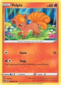 Vulpix, Pokemon, Champion's Path