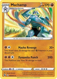 Machamp, Pokemon, Champion's Path
