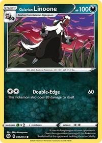 Galarian Linoone, Pokemon, Champion's Path