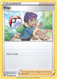 Hop, Pokemon, Champion's Path