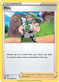 Milo, Pokemon, Champion's Path