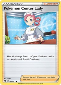 Pokemon Center Lady, Pokemon, Champion's Path