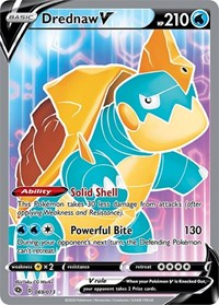 Drednaw V (Full Art), Pokemon, Champion's Path