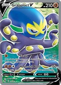 Grapploct V (Full Art), Pokemon, Champion's Path