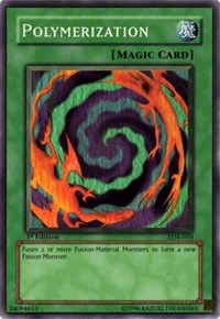 Polymerization, YuGiOh, The Legend of Blue Eyes White Dragon