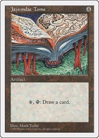 Jayemdae Tome, Magic: The Gathering, Fifth Edition