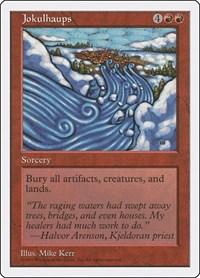 Jokulhaups, Magic: The Gathering, Fifth Edition