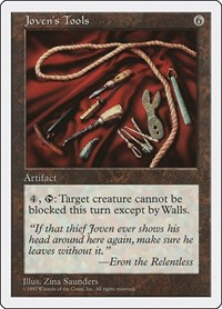 Joven's Tools, Magic: The Gathering, Fifth Edition