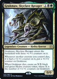 Grakmaw, Skyclave Ravager, Magic: The Gathering, Prerelease Cards