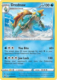 Drednaw - SWSH047, Pokemon, SWSH: Sword & Shield Promo Cards