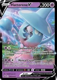 Hatterene V - SWSH055, Pokemon, SWSH: Sword & Shield Promo Cards
