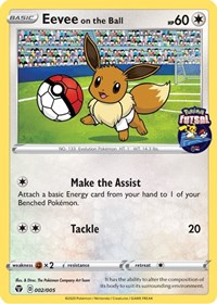 Eevee on the Ball, Pokemon, Miscellaneous Cards & Products