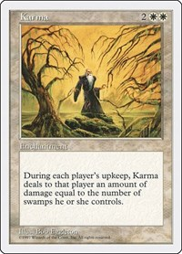 Karma, Magic: The Gathering, Fifth Edition