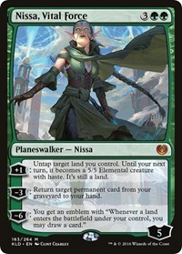 Nissa, Vital Force (Foil)