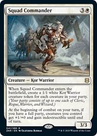 Squad Commander, Magic: The Gathering, Promo Pack: Zendikar Rising