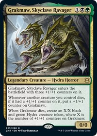 Grakmaw, Skyclave Ravager, Magic: The Gathering, Promo Pack: Zendikar Rising