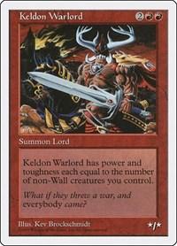 Keldon Warlord, Magic, Fifth Edition