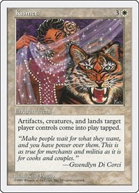 Kismet, Magic: The Gathering, Fifth Edition