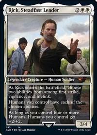 Rick, Steadfast Leader, Magic: The Gathering, Secret Lair Drop Series