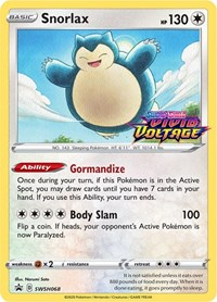 Snorlax - SWSH068 (Prerelease Promo), Pokemon, SWSH: Sword & Shield Promo Cards