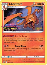 Charizard - SWSH066 (Prerelease Promo) [Staff], Pokemon, SWSH: Sword & Shield Promo Cards