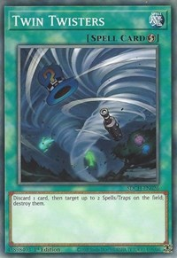 Twin Twisters, YuGiOh, Structure Deck: Spirit Charmers