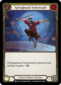 Springboard Somersault