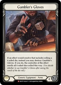 Gambler's Gloves