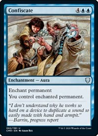 Confiscate, Magic: The Gathering, Commander Legends