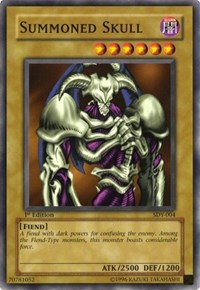 Summoned Skull, YuGiOh, Starter Deck: Yugi