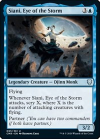Siani, Eye of the Storm, Magic: The Gathering, Commander Legends