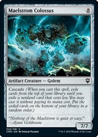 Maelstrom Colossus, Magic: The Gathering, Commander Legends