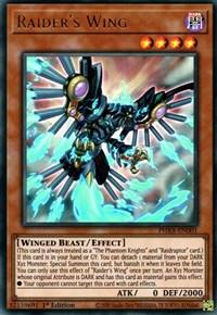 Raidraptor/'s Phantom Knights Claw PHRA-EN069 Super Rare Yu-Gi-Oh Card 1st Edit