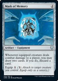 Mask of Memory, Magic: The Gathering, Commander Legends