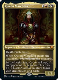 Queen Marchesa (Foil Etched), Magic: The Gathering, Commander Legends