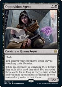 Opposition Agent, Magic: The Gathering, Commander Legends