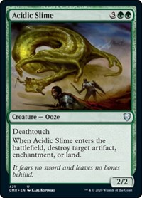 Acidic Slime, Magic: The Gathering, Commander Legends