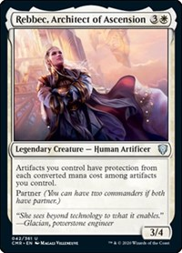 Rebbec, Architect of Ascension, Magic: The Gathering, Commander Legends