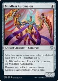 Mindless Automaton, Magic: The Gathering, Commander Legends