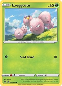Exeggcute, Pokemon, SWSH04: Vivid Voltage
