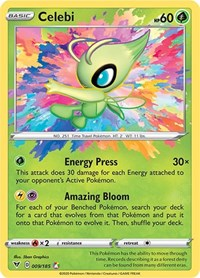 Celebi, Pokemon, SWSH04: Vivid Voltage