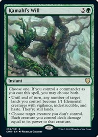Kamahl's Will, Magic: The Gathering, Commander Legends